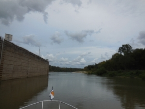 Leaving Coffeeville lock