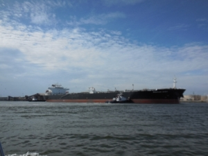 Tanker in Mobile Port