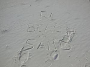 Gulf Beach Sand