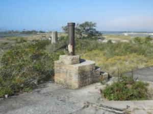 Fort remnants