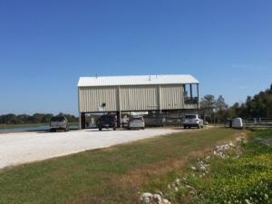 Marina office, facilities & fuel dock