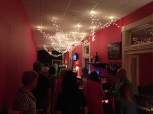 Hallway bar at The Bistro