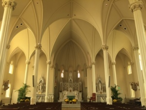 Inside St. Josephs Chapel at SHC