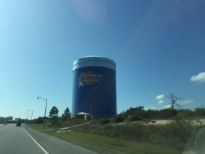 Water tower - beach side