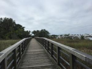 Walkway to Baytowne Wharf