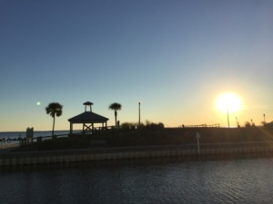 Sunset at Port St. Joe