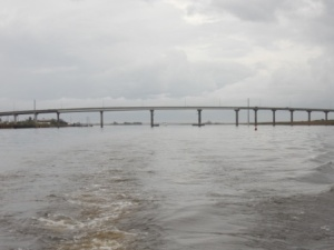 Hiway 98 Bridge - Leaving Apalachicola
