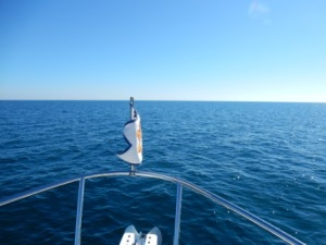 Flat seas on the Gulf