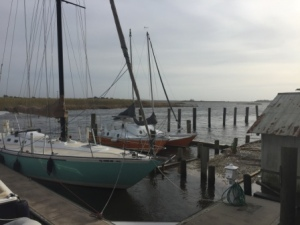 Flooding over fixed docks