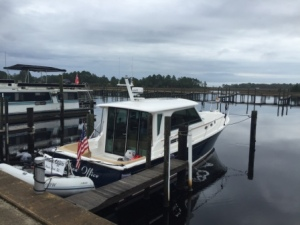 IO at Moorings Marina in Carrabelle
