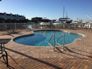 Pool at Marker 1