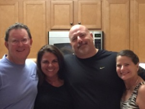Mark, Chele, Dave & Denise