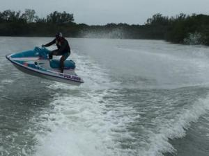 Jet Skier in Rookery Bay