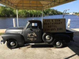 Rod & Gun Club truck