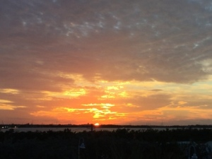 Sunset over Key West