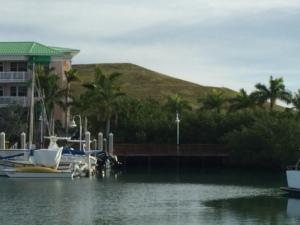 Landfill near marina