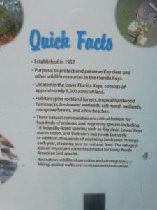 Natl Key Deer Refuge Facts
