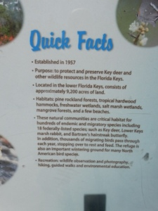 Natl Key Deer Refuge Facts