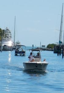 Rodney's boat - Port Largo Canal