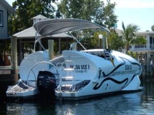 Glass Bottom boat small