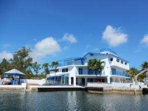 House shaped like a boat