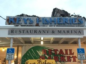 Entrance at Keys Fisheries