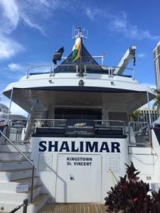 Shalimar at MB Boat Show