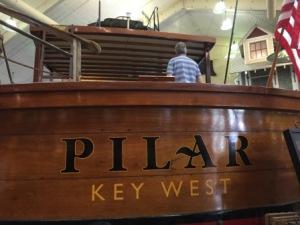 Hemingway's boat at WW SPortsman - Islamorada