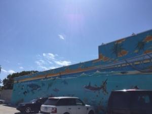 Mural at K-Mart