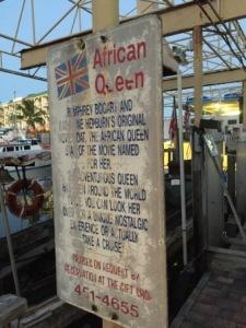African Queen rental