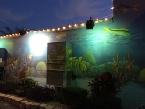 Wall at Fish House Encore