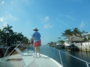 Leaving Key Largo