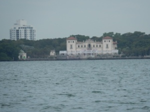 Vizcaya from Biscayne Bay