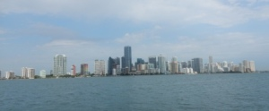 Downtown Miami from Biscayne Bay
