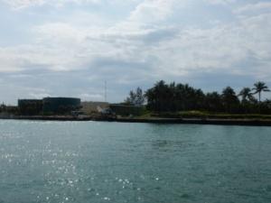 Fisher Island fuel tanks