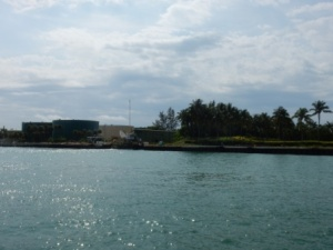 Fisher Island fuel tanks