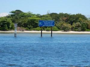 Signage at Port Everglades entrance