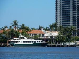 Boca Raton House and boat
