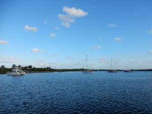 Peck Lake anchorage