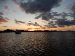 Sunset at Peck Lake