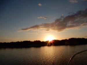 Sunrise on Peck Lake