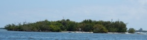 Island near St. Lucie Inlet