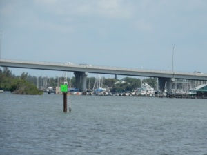 Approaching Vero Beach marinas