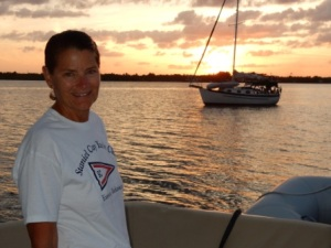 Denise - Serenity Island sunset