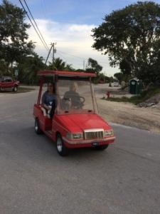 Golf Cart - front