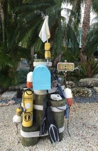 Mailbox post - Port Largo Home