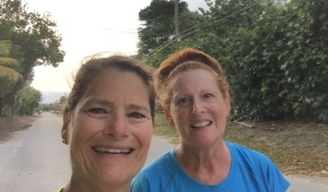 Denise & Pam - post run selfie