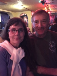 Elizabeth & Ken at Sharkey's