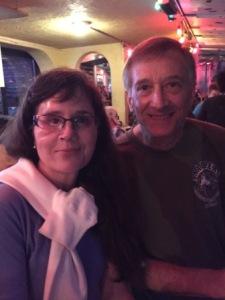 Elizabeth & Ken at Sharkey's