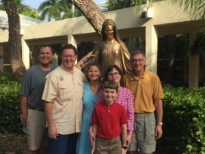 Easter - Robert, Mark, Denise, Elizabeth, Ken & Daniel